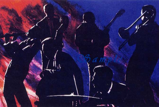 Jazz and Blues series by Lafayette Ragsdale